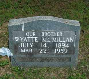 MCMILLAN, WYATTE - Boone County, Arkansas | WYATTE MCMILLAN - Arkansas Gravestone Photos
