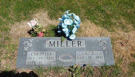 MILLER, CORDELIA - Boone County, Arkansas | CORDELIA MILLER - Arkansas Gravestone Photos