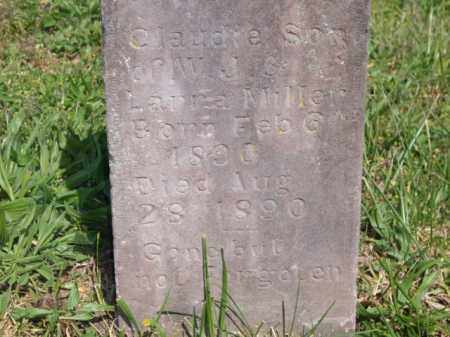 MILLER, CLAUDIE - Boone County, Arkansas   CLAUDIE MILLER - Arkansas Gravestone Photos