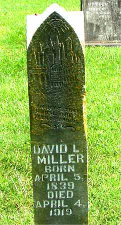 MILLER, DAVID  L. - Boone County, Arkansas | DAVID  L. MILLER - Arkansas Gravestone Photos