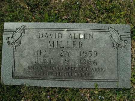 MILLER, DAVID ALLEN - Boone County, Arkansas | DAVID ALLEN MILLER - Arkansas Gravestone Photos