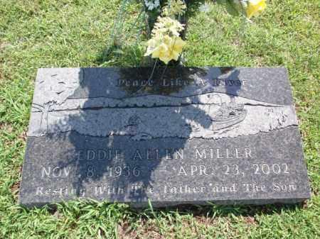 MILLER, EDDIE ALLEN - Boone County, Arkansas | EDDIE ALLEN MILLER - Arkansas Gravestone Photos