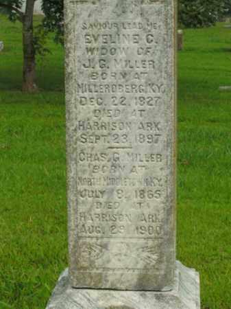 MILLER, CHARLES G. - Boone County, Arkansas   CHARLES G. MILLER - Arkansas Gravestone Photos