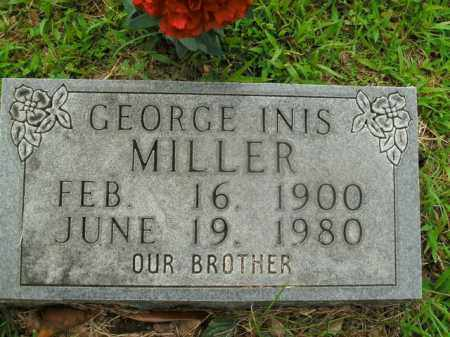 MILLER, GEORGE INIS - Boone County, Arkansas   GEORGE INIS MILLER - Arkansas Gravestone Photos