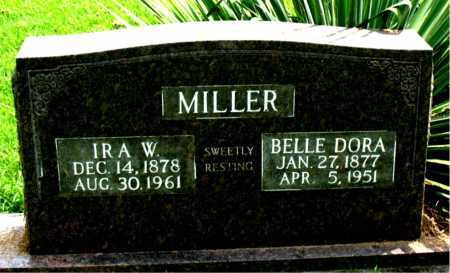 MILLER, IRA W. - Boone County, Arkansas | IRA W. MILLER - Arkansas Gravestone Photos
