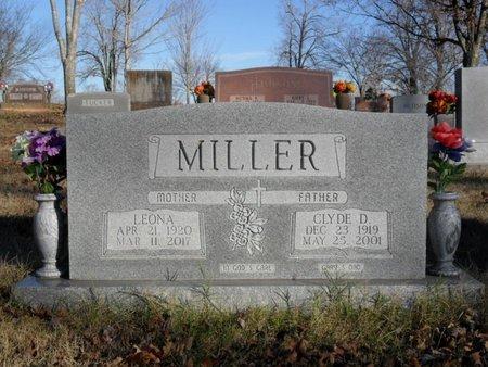 MILLER, LEONA - Boone County, Arkansas   LEONA MILLER - Arkansas Gravestone Photos