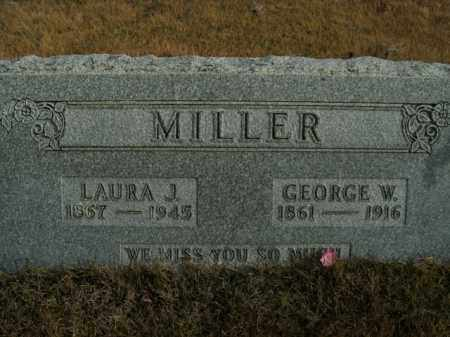 MILLER, LAURA J. - Boone County, Arkansas | LAURA J. MILLER - Arkansas Gravestone Photos