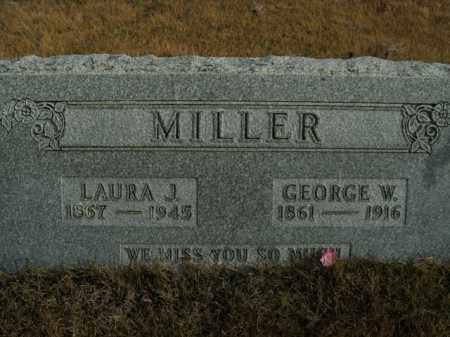 MILLER, GEORGE W. - Boone County, Arkansas | GEORGE W. MILLER - Arkansas Gravestone Photos