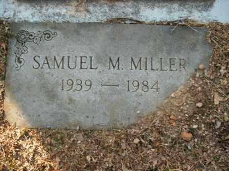 MILLER, SAMUEL M. - Boone County, Arkansas   SAMUEL M. MILLER - Arkansas Gravestone Photos