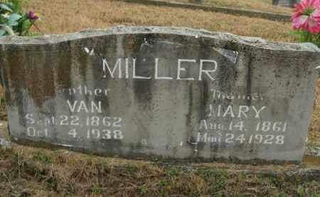 MILLER, MARY - Boone County, Arkansas   MARY MILLER - Arkansas Gravestone Photos