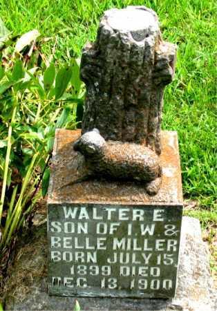 MILLER, WALTER E. - Boone County, Arkansas   WALTER E. MILLER - Arkansas Gravestone Photos