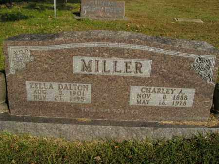 MILLER, ZELLA DALTON - Boone County, Arkansas | ZELLA DALTON MILLER - Arkansas Gravestone Photos