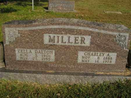 MILLER, CHARLEY A. - Boone County, Arkansas | CHARLEY A. MILLER - Arkansas Gravestone Photos