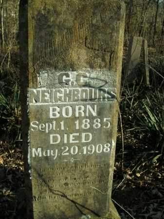 NEIGHBOURS, G.C. - Boone County, Arkansas | G.C. NEIGHBOURS - Arkansas Gravestone Photos