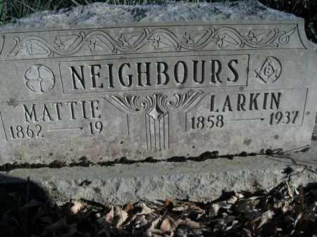 NEIGHBOURS, MARTHA ELLEN - Boone County, Arkansas | MARTHA ELLEN NEIGHBOURS - Arkansas Gravestone Photos