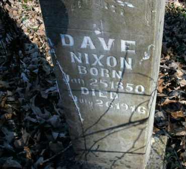 NIXON, DAVE - Boone County, Arkansas | DAVE NIXON - Arkansas Gravestone Photos