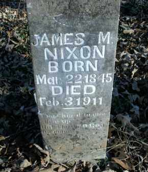 NIXON, JAMES M. - Boone County, Arkansas   JAMES M. NIXON - Arkansas Gravestone Photos