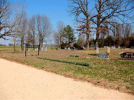 *WARNER CEMETERY OVERVIEW,  - Boone County, Arkansas |  *WARNER CEMETERY OVERVIEW - Arkansas Gravestone Photos