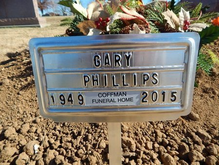 PHILLIPS, GARY - Boone County, Arkansas | GARY PHILLIPS - Arkansas Gravestone Photos