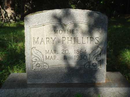 PHILLIPS, MARY - Boone County, Arkansas   MARY PHILLIPS - Arkansas Gravestone Photos