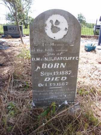 RATCLIFFE, INFANT SON - Boone County, Arkansas | INFANT SON RATCLIFFE - Arkansas Gravestone Photos