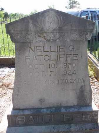 RATCLIFFE, NELLIE G. - Boone County, Arkansas | NELLIE G. RATCLIFFE - Arkansas Gravestone Photos