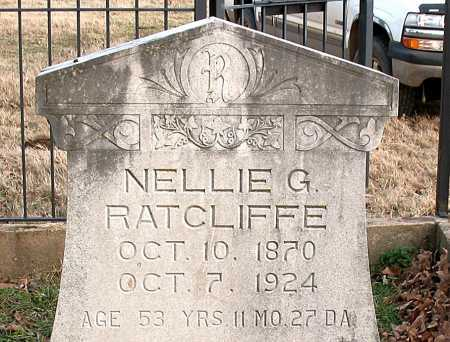 RATCLIFFE, NELLIE G. - Boone County, Arkansas | NELLIE G. RATCLIFFE - Arkansas Gravestone Photos