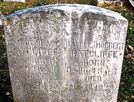 "HOLT RATCLIFFE, NANCY SLATEM ""NANNIE"" - Boone County, Arkansas 