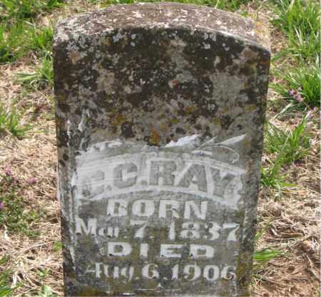 RAY, C.C. - Boone County, Arkansas | C.C. RAY - Arkansas Gravestone Photos