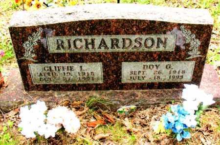 RICHARDSON, CLIFFIE L. - Boone County, Arkansas | CLIFFIE L. RICHARDSON - Arkansas Gravestone Photos