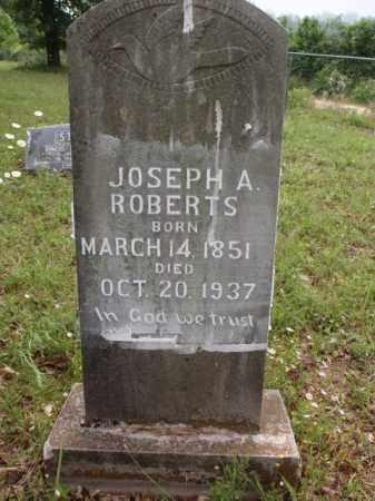 ROBERTS, JOSEPH A. - Boone County, Arkansas | JOSEPH A. ROBERTS - Arkansas Gravestone Photos