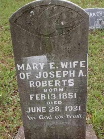 ROBERTS, MARY ELIZABETH - Boone County, Arkansas | MARY ELIZABETH ROBERTS - Arkansas Gravestone Photos