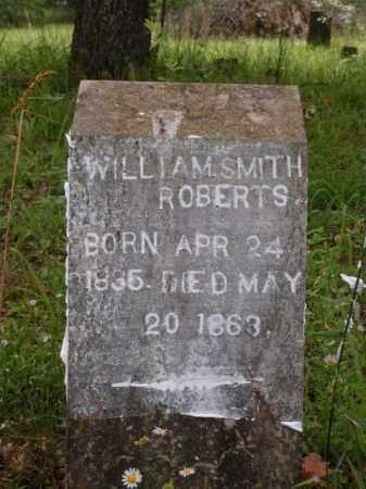 ROBERTS, WILLIAM SMITH - Boone County, Arkansas | WILLIAM SMITH ROBERTS - Arkansas Gravestone Photos