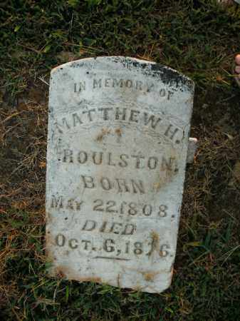 ROULSTON, MATTHEW HARVEY - Boone County, Arkansas   MATTHEW HARVEY ROULSTON - Arkansas Gravestone Photos