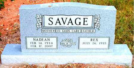 SAVAGE, NADEAN - Boone County, Arkansas | NADEAN SAVAGE - Arkansas Gravestone Photos