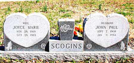 SCOGINS, JOYCE MARIE - Boone County, Arkansas | JOYCE MARIE SCOGINS - Arkansas Gravestone Photos