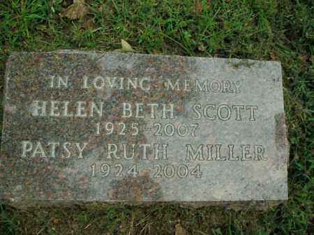 MILLER, PATSY RUTH - Boone County, Arkansas | PATSY RUTH MILLER - Arkansas Gravestone Photos