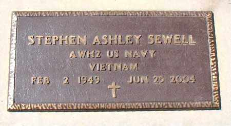 SEWELL  (VETERAN VIET), STEPHEN ASHLEY - Boone County, Arkansas | STEPHEN ASHLEY SEWELL  (VETERAN VIET) - Arkansas Gravestone Photos