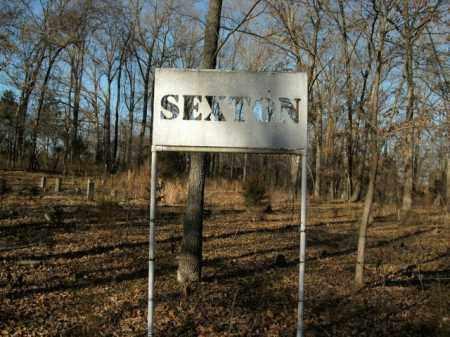 *SEXTON ENTRANCE,  - Boone County, Arkansas    *SEXTON ENTRANCE - Arkansas Gravestone Photos