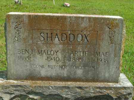 SHADDOX, ARTIE MAE - Boone County, Arkansas | ARTIE MAE SHADDOX - Arkansas Gravestone Photos