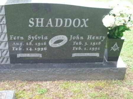 SHADDOX, FERN SYLVIA - Boone County, Arkansas | FERN SYLVIA SHADDOX - Arkansas Gravestone Photos
