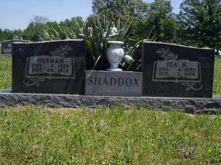 SHADDOX, ISA N. - Boone County, Arkansas | ISA N. SHADDOX - Arkansas Gravestone Photos