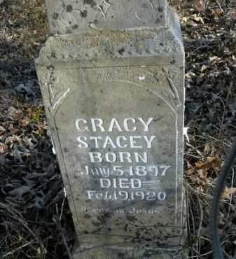 STACEY, GRACY - Boone County, Arkansas | GRACY STACEY - Arkansas Gravestone Photos