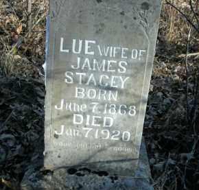 STACEY, LUE - Boone County, Arkansas | LUE STACEY - Arkansas Gravestone Photos