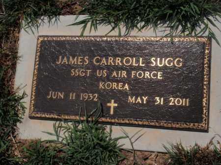 SUGG  (VETERAN KOR), JAMES CARROLL - Boone County, Arkansas | JAMES CARROLL SUGG  (VETERAN KOR) - Arkansas Gravestone Photos