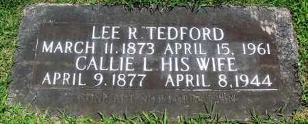 TEDFORD, CALLIE L - Boone County, Arkansas | CALLIE L TEDFORD - Arkansas Gravestone Photos