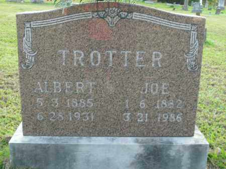 TROTTER, JOE - Boone County, Arkansas   JOE TROTTER - Arkansas Gravestone Photos