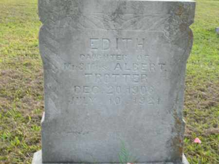 TROTTER, EDITH - Boone County, Arkansas | EDITH TROTTER - Arkansas Gravestone Photos