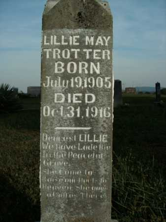 TROTTER, LILLIE MAY - Boone County, Arkansas | LILLIE MAY TROTTER - Arkansas Gravestone Photos