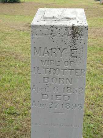 TROTTER, MARY E. - Boone County, Arkansas | MARY E. TROTTER - Arkansas Gravestone Photos
